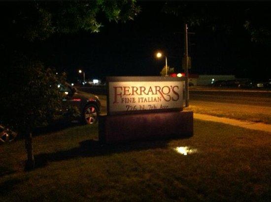 Ferraro's Sign