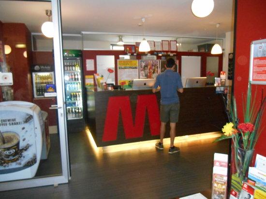 MEININGER Hotel Wien Hauptbahnhof: Lobby