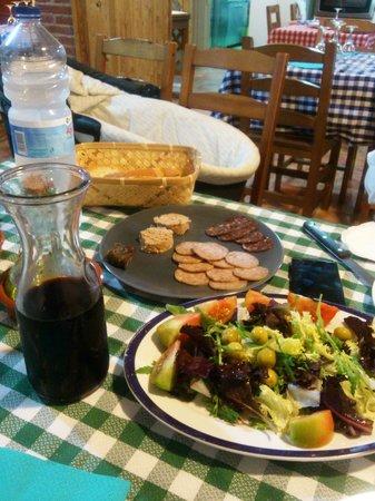 Cal Peret Parera: Una buena cena