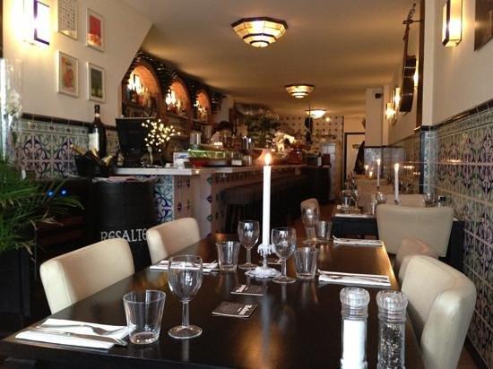 Restaurant Olivar: interior