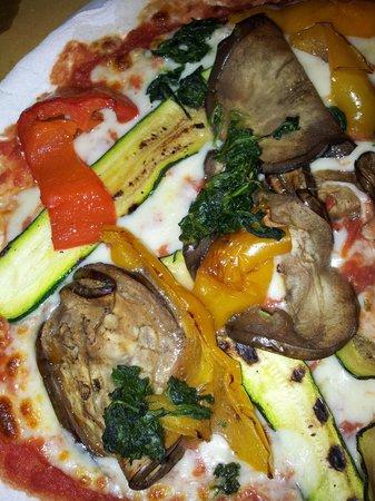 Ae Oche : Vegetarian gluten free pizza