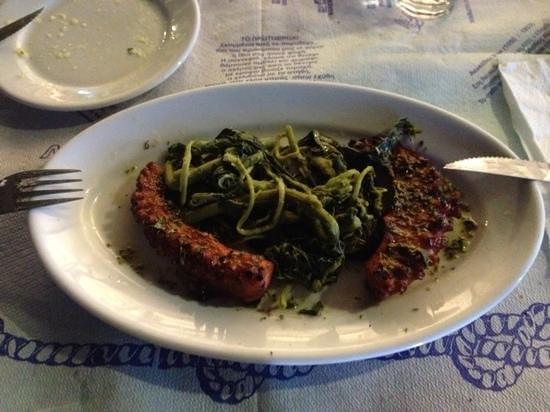Liogerma : grilled octopus.. super!
