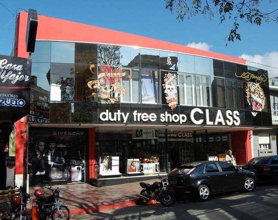 Rivera Department, Uruguay: Class Free Shop