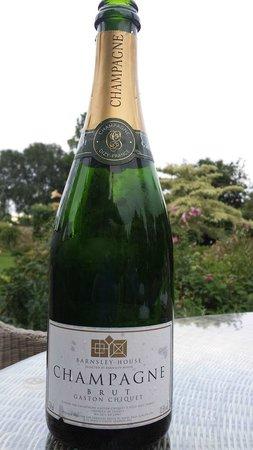 Barnsley House Champagne