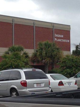 Ingram Planetarium: Outside
