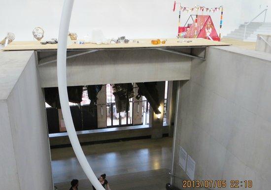 Palais de Tokyo: view from upper level