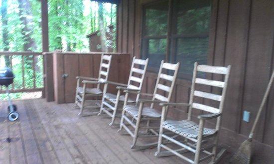 Springmaid Mountain : Back Porch
