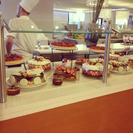 Club Med Da Balaia: Buffet ! Miam