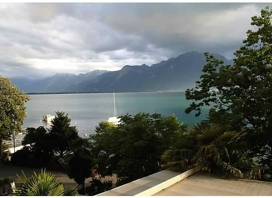 Hotel Royal Plaza Montreux : view from our room