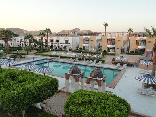 Al Mashrabiya: Вид отеля.Фото с крыши.