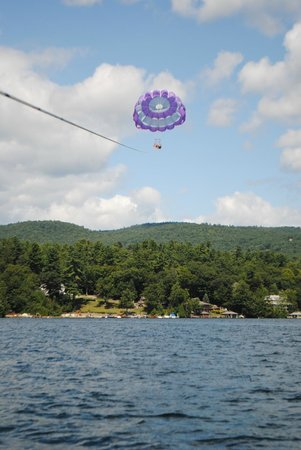 Parasailing Adventures: like floating on air