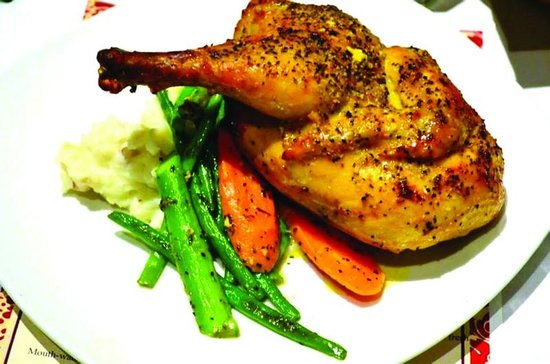 Encore Dinner Theatre: Roasted Lemon Pepper Chicken