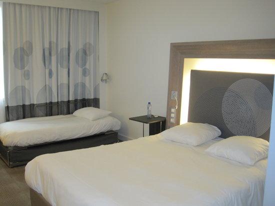 Novotel Brussels Centre: Habitación triple