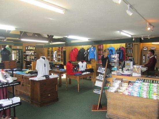 Royal Porthcawl Golf Club: pro shop