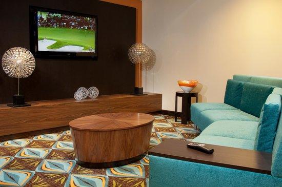 Courtyard Miami Coconut Grove: Lounge
