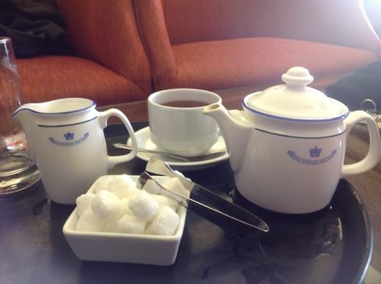 Royal Porthcawl Golf Club: tea