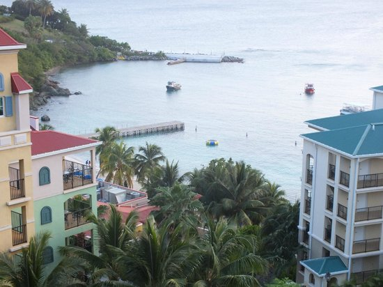 Marriott's Frenchman's Cove: View from the rooms
