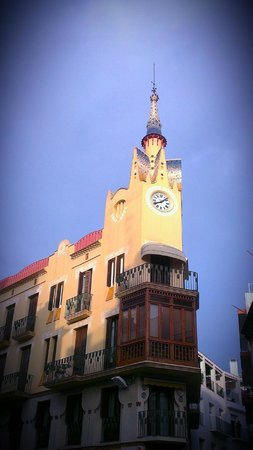 Hotel Medium Sitges Park: Town Clock Tower