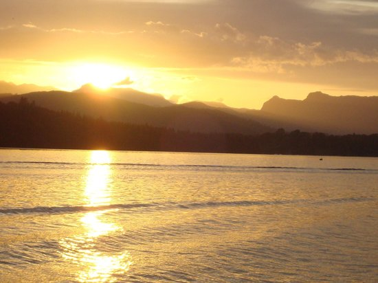 Bowness-on-Windermere, UK: Different Sunset on Windermere