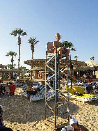 Al Mashrabiya: Пляж
