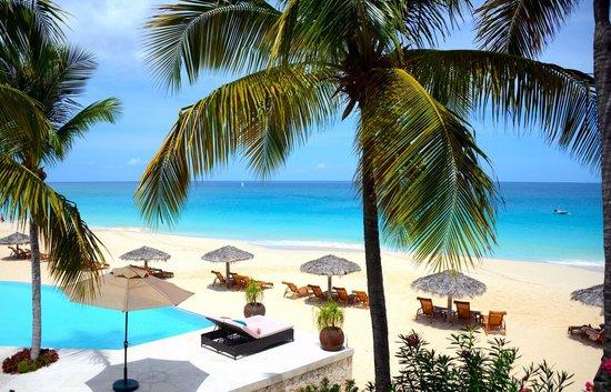 Frangipani Beach Resort: View from the balcony