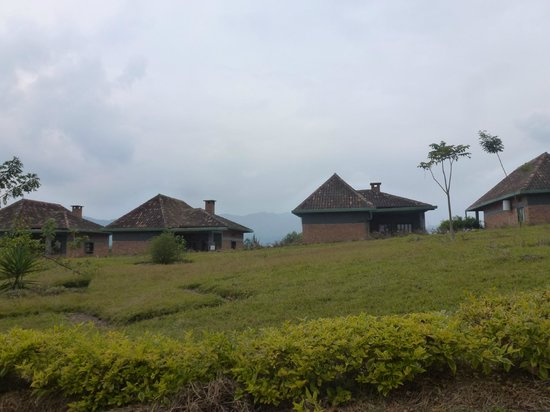 Nyungwe Top View Hill Hotel: les bungalows
