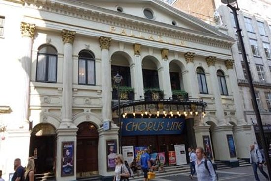 The front of the London Palladium - Picture of A Chorus Line, London