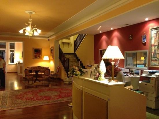 Hotel Villa Pigna: la reception