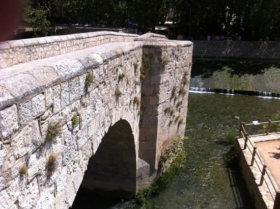 Castillo de Alcalá del Júcar: Alcala del Jucar , pont romain