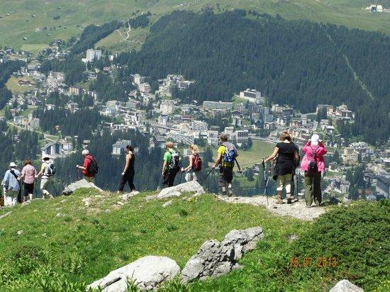 Arosa Kulm Hotel & Alpin Spa : Wanderung mit Hans