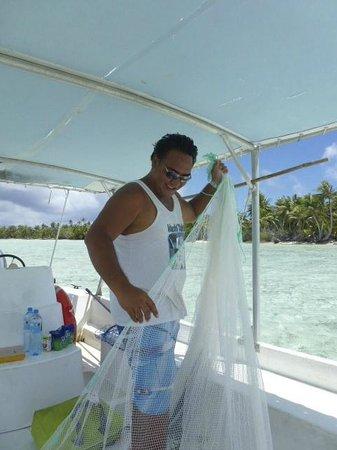 Fare Pae'ao (Chez Janine): Sortie pêche avec Nelson