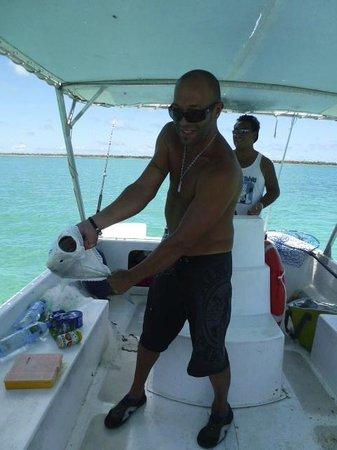 Fare Pae'ao (Chez Janine): Journée pêche avec Nelson