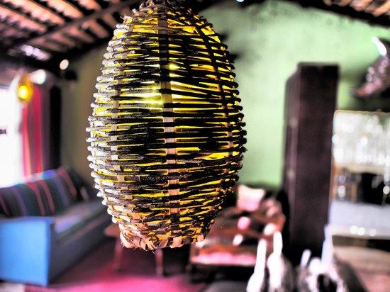 La Casita Tapas & Wine Bar: SHADY LAMP AT LA CASITA