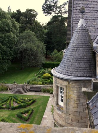 Carberry Tower Mansion House and Estate: View from our room