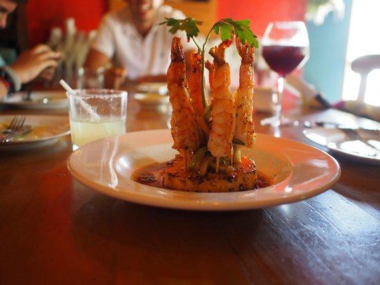 La Casita Tapas & Wine Bar: SHRIMP CARROUSEL