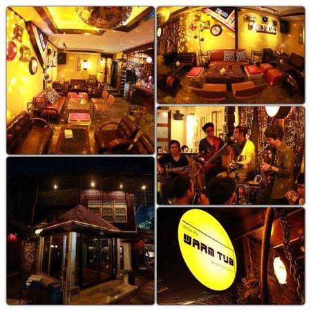 Warm Tub Club & Restaurant : บรรยากาศในร้าน