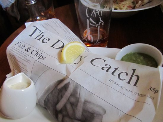 Masons Arms: Fish & Chips (What a Catch!)