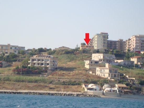 B&B Villa Margherita : Villa Margherita vista dal mare 3