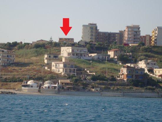 Villa Margherita vista dal mare 4