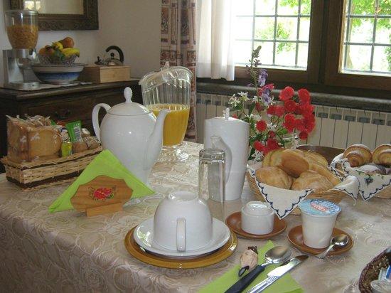 La Villa di Lucia : la colazione