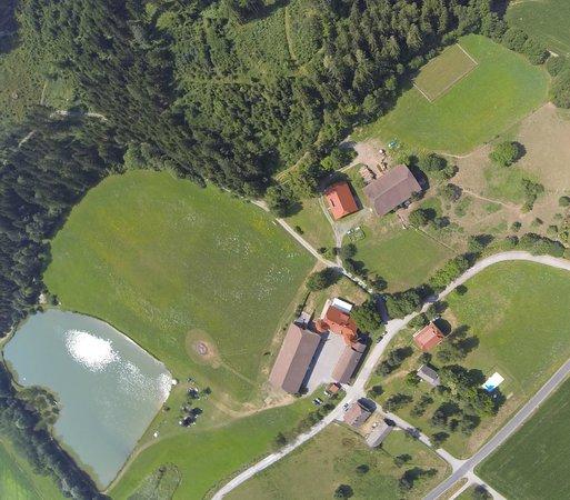 Ferien am Talhof: Luftbild vom Talhof