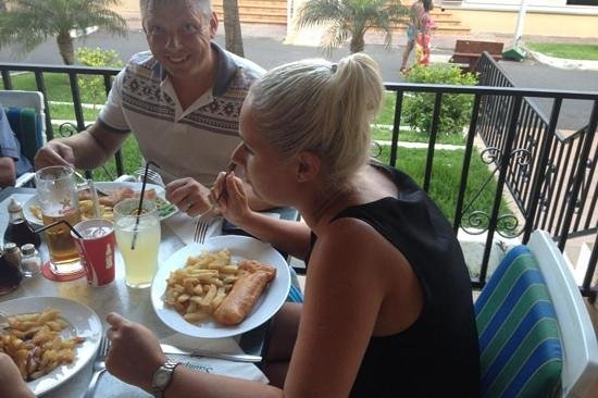 Scampis Tenerife Fish and Chips: quality