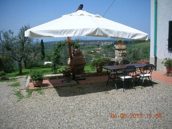 Casa con Bella Vista: Garden