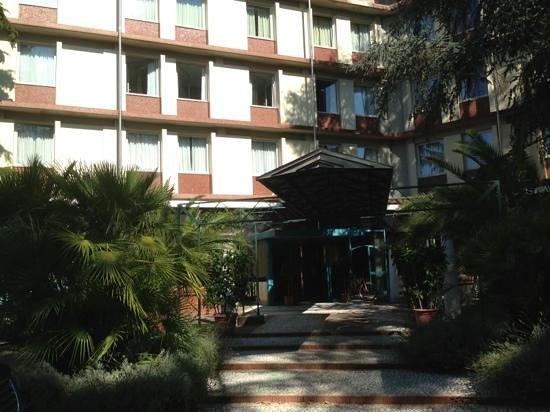 Grand Hotel Panoramic: fachada principal