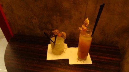 Buddha-Bar Hotel Prague : Welcome cocktails!