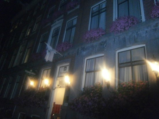 Prinsengracht Hotel: façade