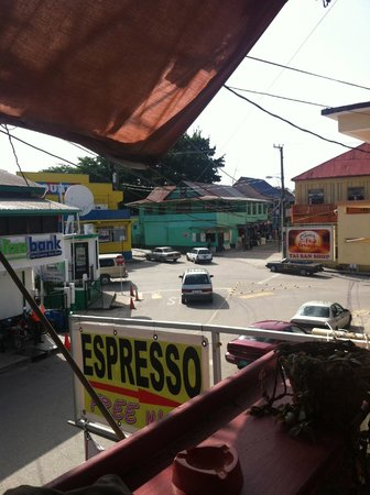 The Belize Coffee Company: View of Downtown
