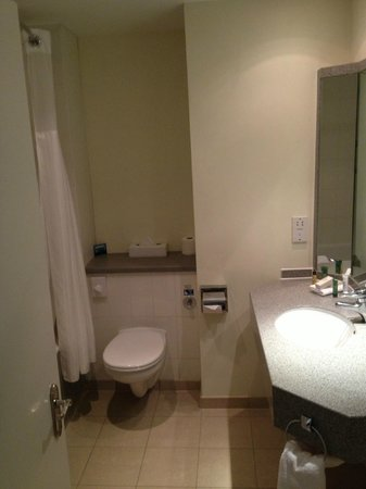 Hilton Dartford Bridge: bathroom