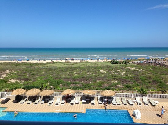 Hilton Garden Inn South Padre Island: View from rm 323