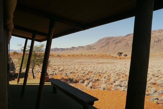 Wolwedans Dunes Lodge: stunning landscape around the camp